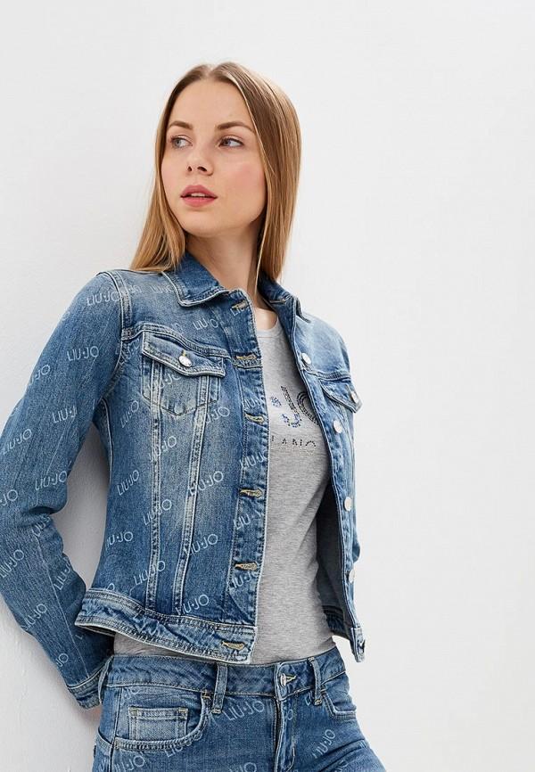 Куртка джинсовая Liu Jo Liu Jo LI687EWDMTQ1 куртка liu jo jeans w16334e0211 22222