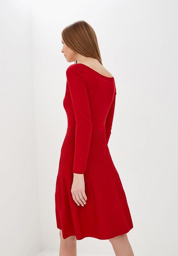 Фото 3 - женское повседневное платье Liu Jo красного цвета