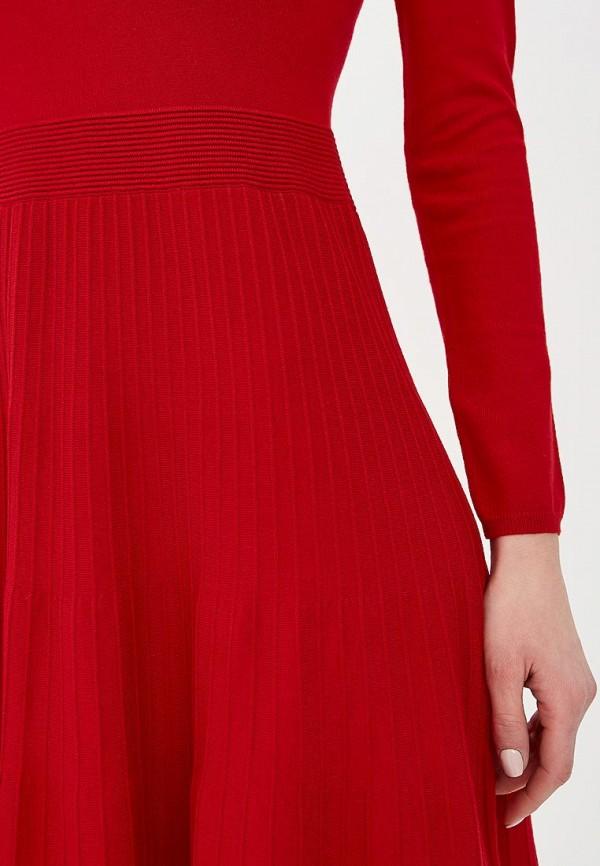 Фото 4 - женское повседневное платье Liu Jo красного цвета