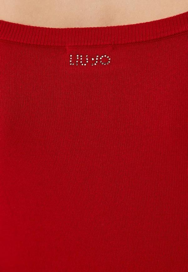 Фото 5 - женское повседневное платье Liu Jo красного цвета