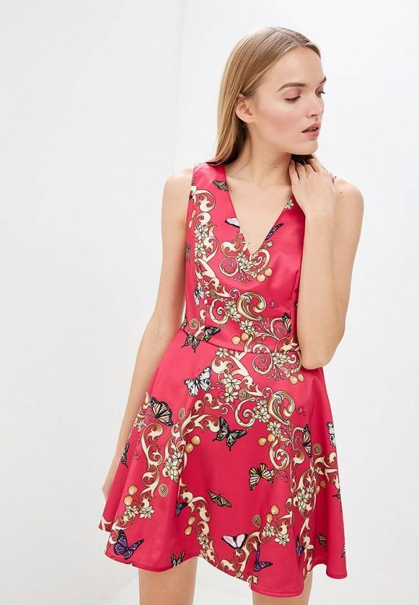 женское платье liu jo, розовое