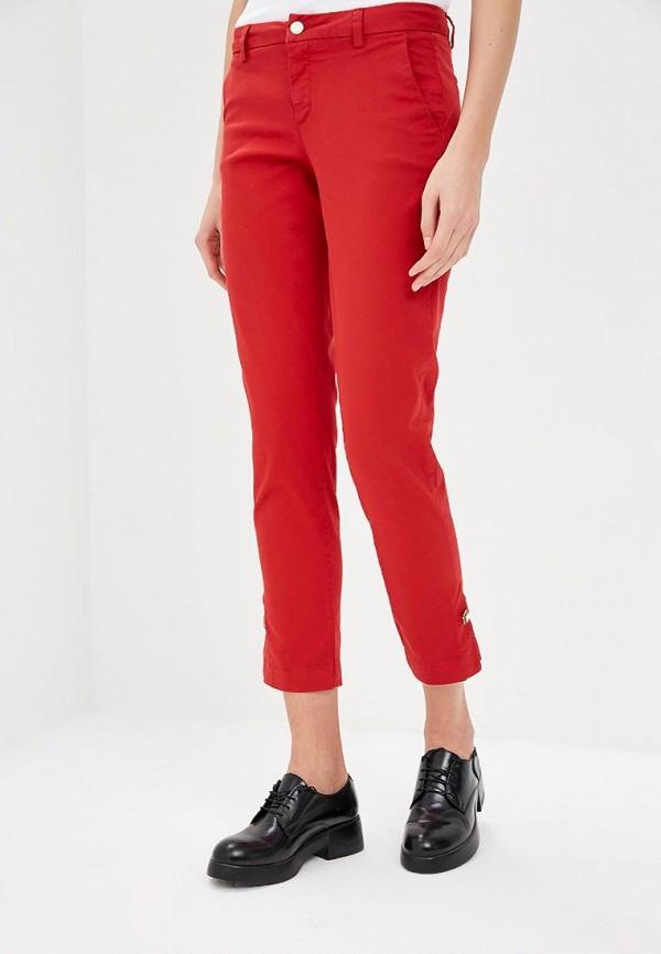 женские повседневные брюки liu jo, красные