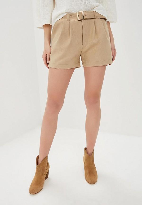женские повседневные шорты liu jo, бежевые