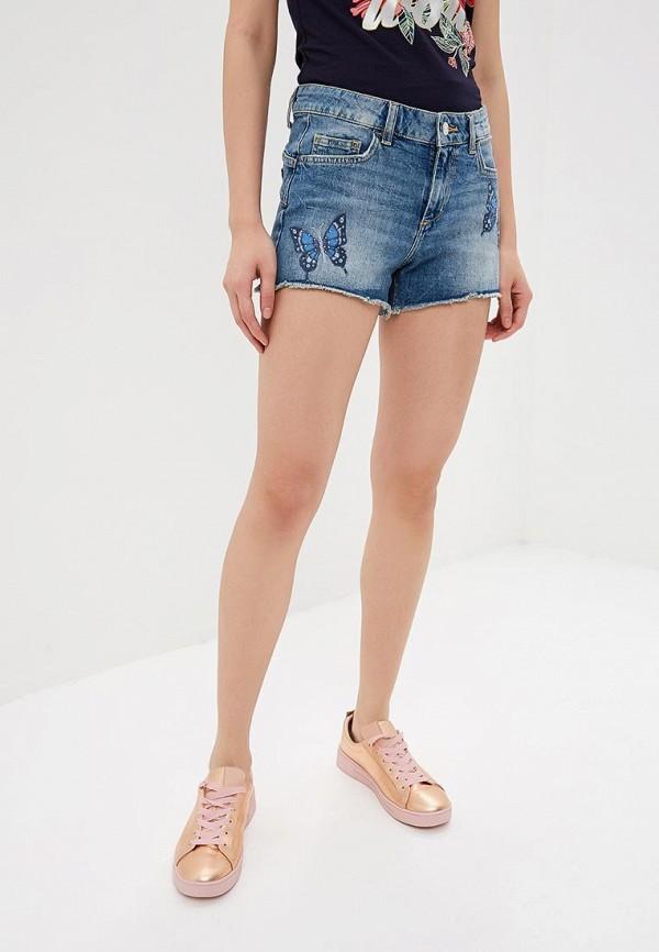 цена Шорты джинсовые Liu Jo Liu Jo LI687EWDMUB5 онлайн в 2017 году