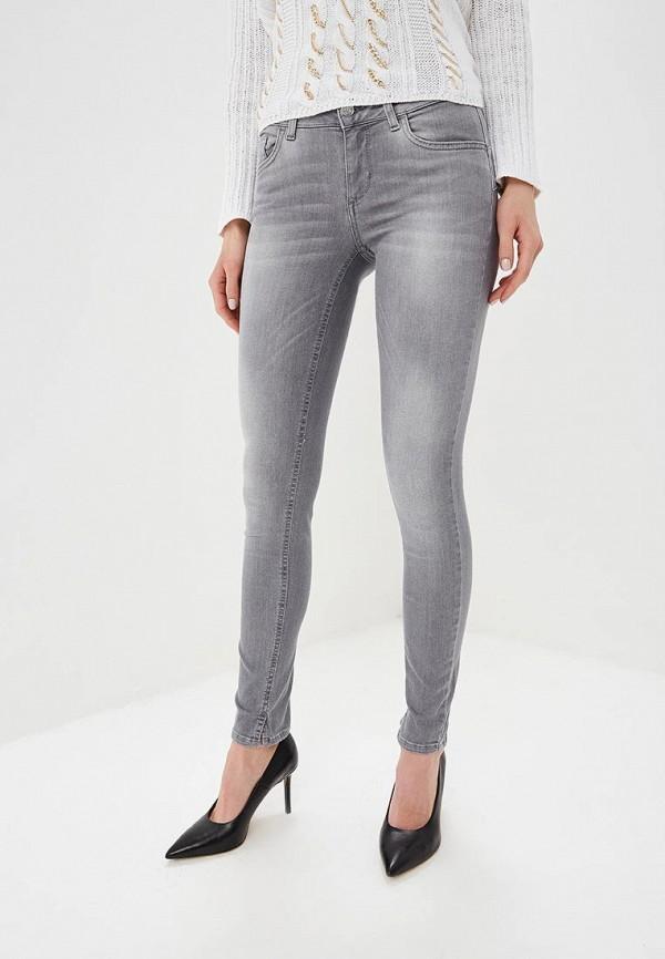 женские джинсы liu jo, серые