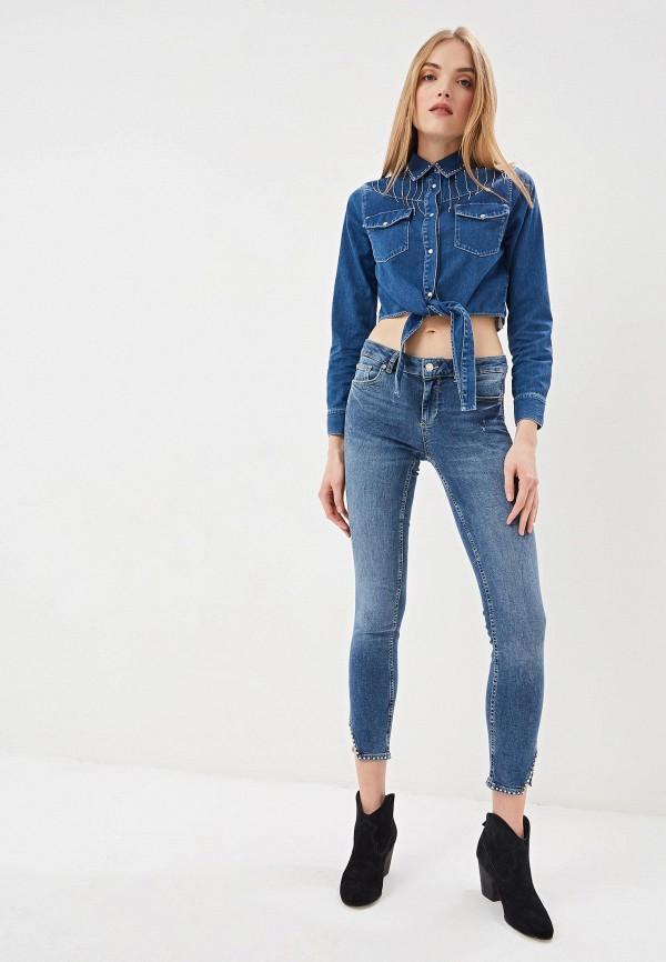 Фото 2 - женские джинсы Liu Jo синего цвета