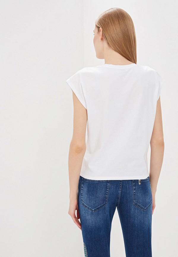 Фото 3 - женскую футболку Liu Jo белого цвета