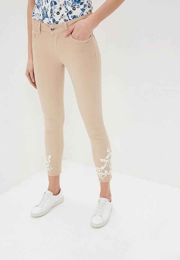 женские джинсы liu jo, бежевые