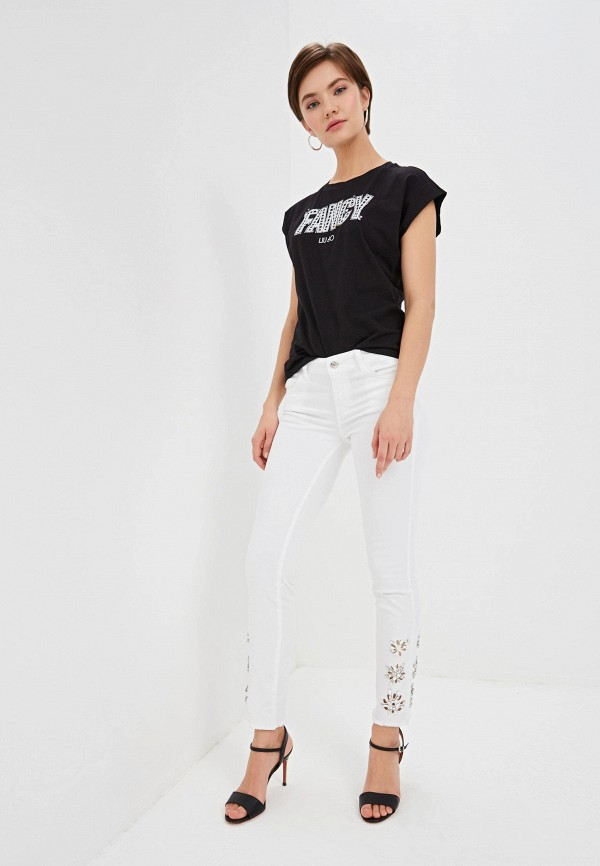 Фото 2 - женские джинсы Liu Jo белого цвета