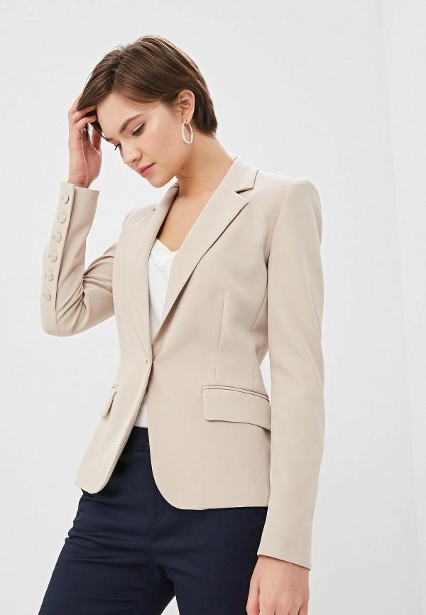 женский пиджак liu jo, бежевый