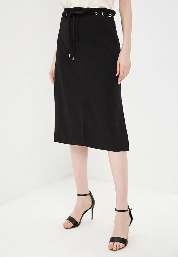 женская прямые юбка liu jo, черная