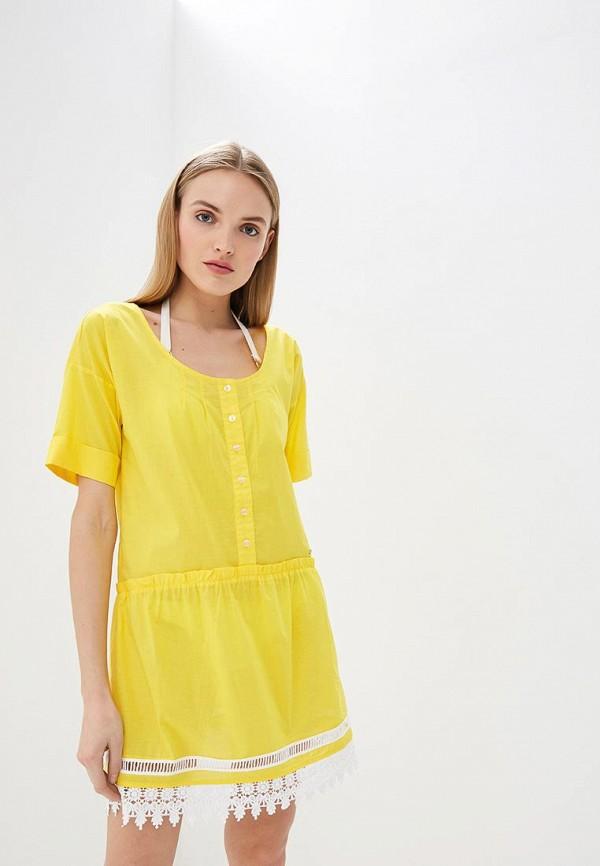 Платье пляжное Liu Jo Liu Jo LI687EWDMWY0 платье liu jo liu jo li687ewbsqr4