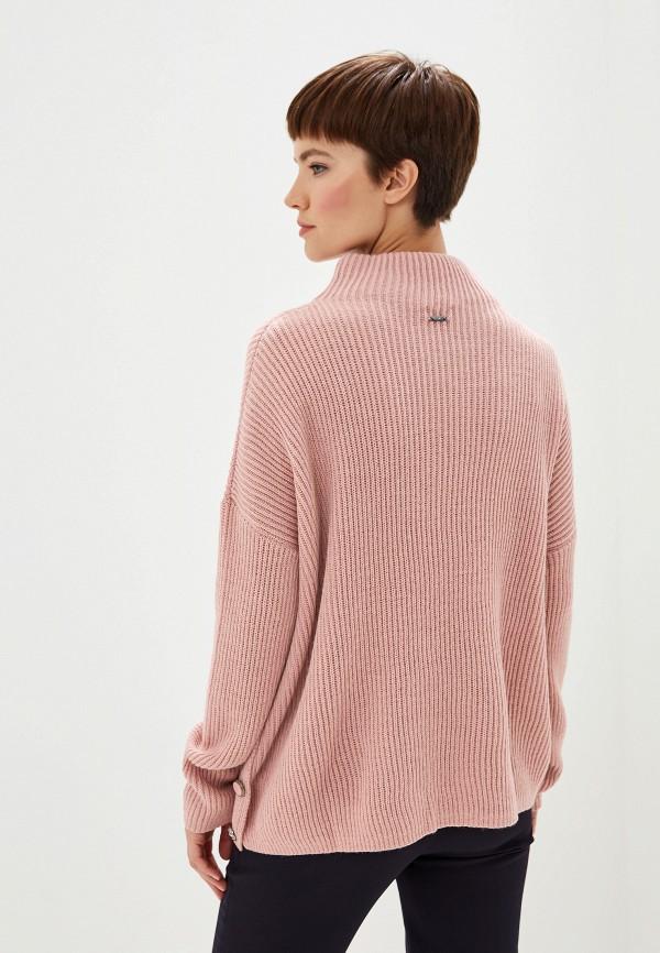 Фото 3 - женский свитер Liu Jo розового цвета