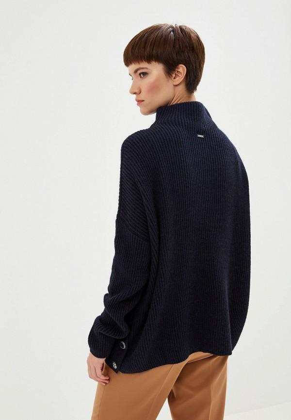 Фото 3 - женский свитер Liu Jo синего цвета