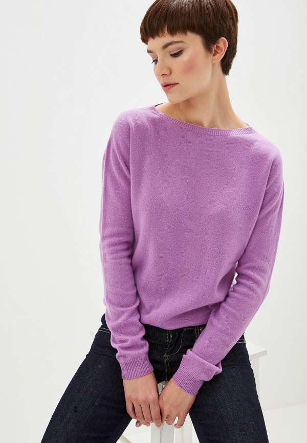 женский джемпер liu jo, фиолетовый