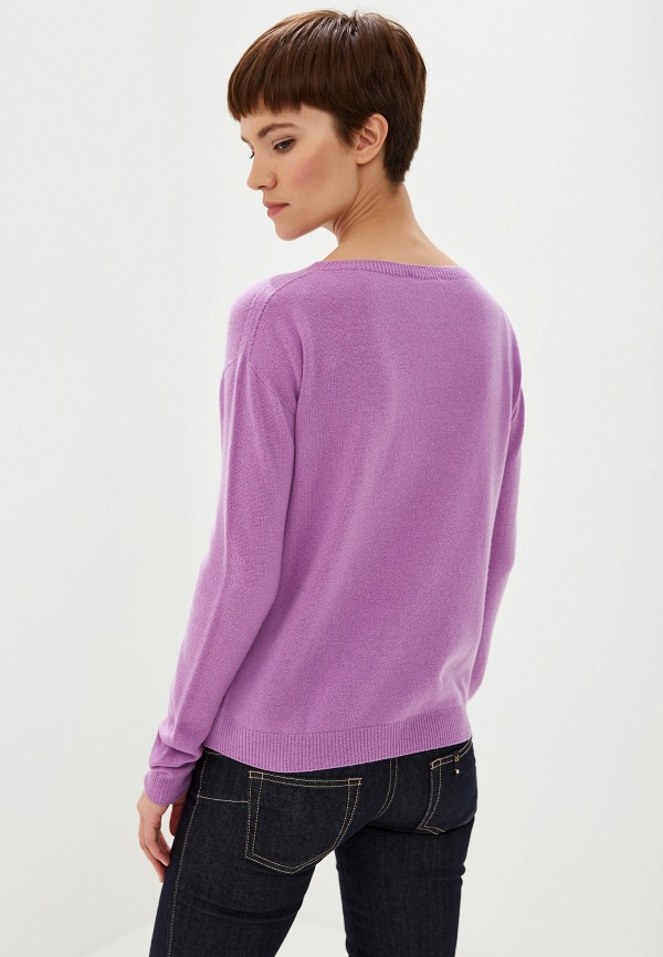 Фото 3 - женский джемпер Liu Jo фиолетового цвета