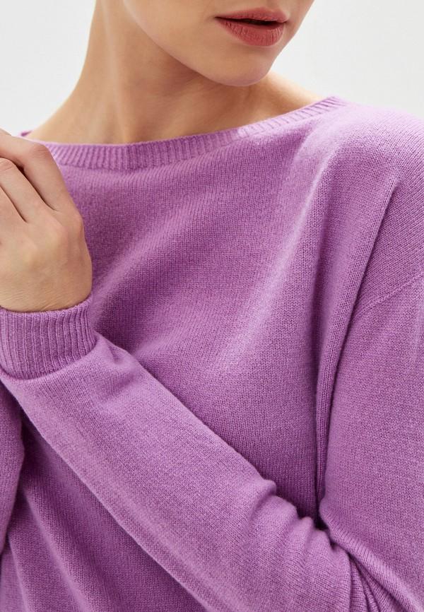Фото 4 - женский джемпер Liu Jo фиолетового цвета