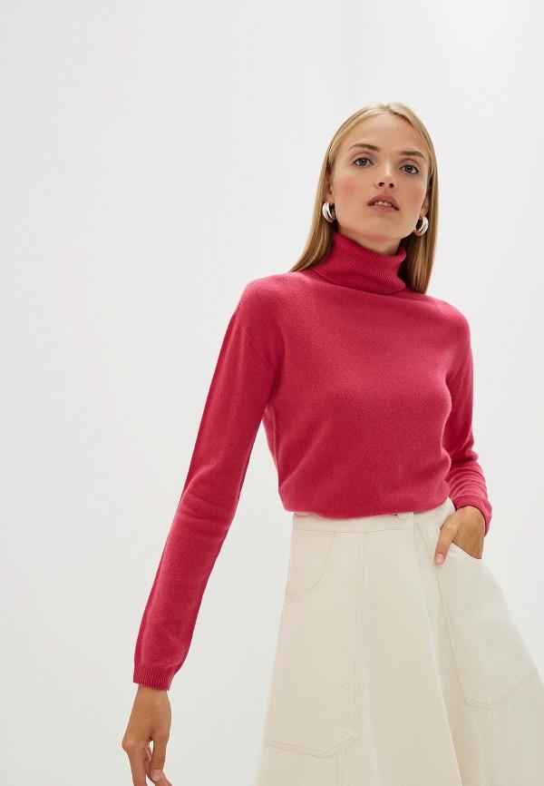 женская водолазка liu jo, розовая