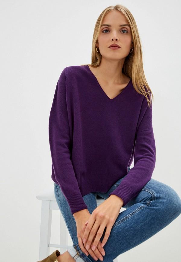 женский пуловер liu jo, фиолетовый