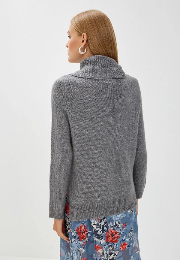 Фото 3 - женский свитер Liu Jo серого цвета