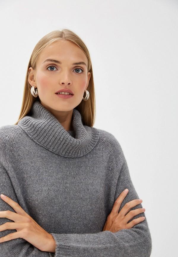 Фото 4 - женский свитер Liu Jo серого цвета