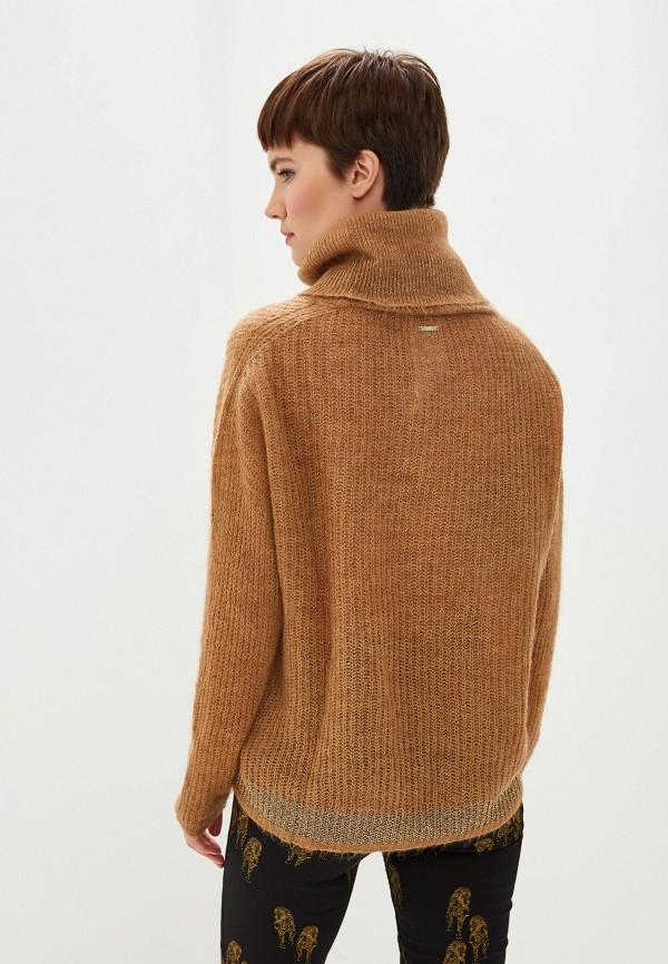 Фото 3 - женский свитер Liu Jo коричневого цвета