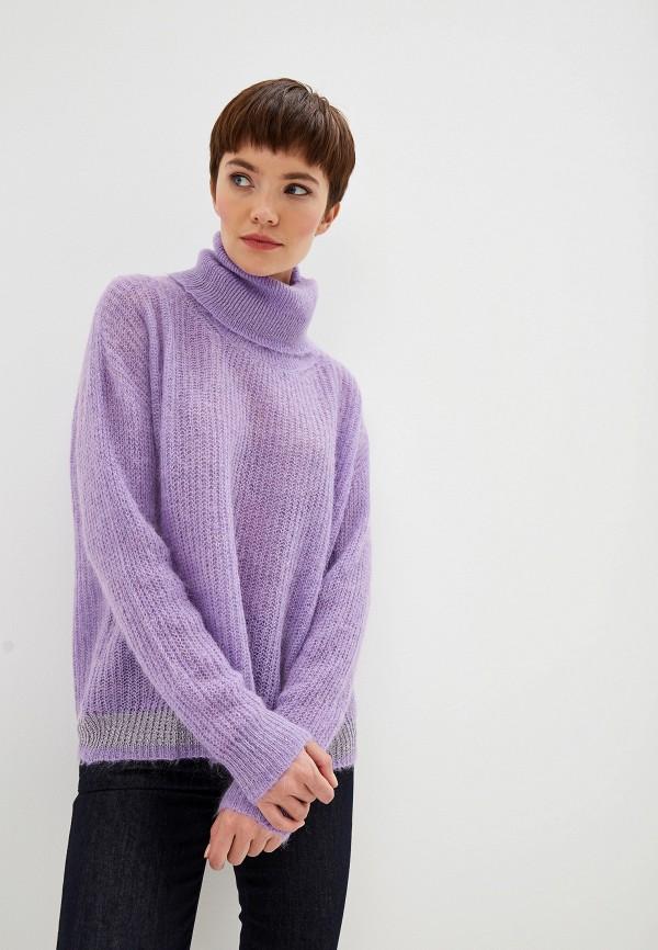 женский свитер liu jo, фиолетовый