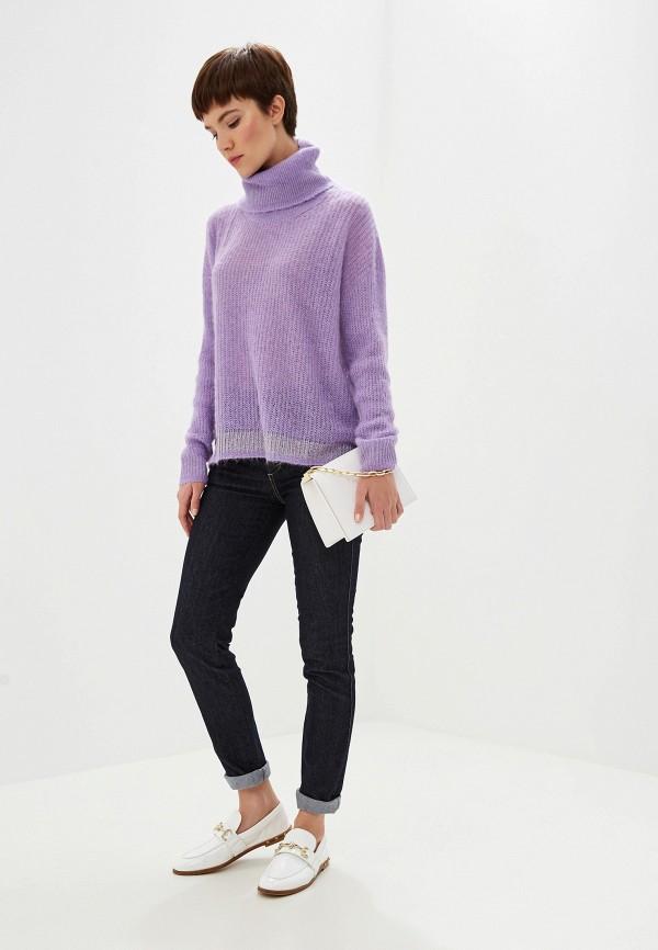 Фото 2 - женский свитер Liu Jo фиолетового цвета