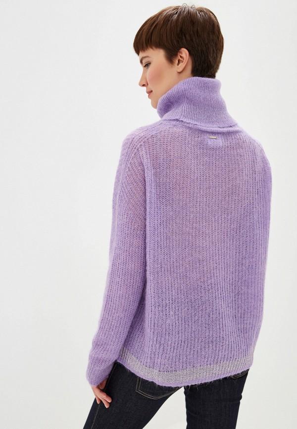 Фото 3 - женский свитер Liu Jo фиолетового цвета