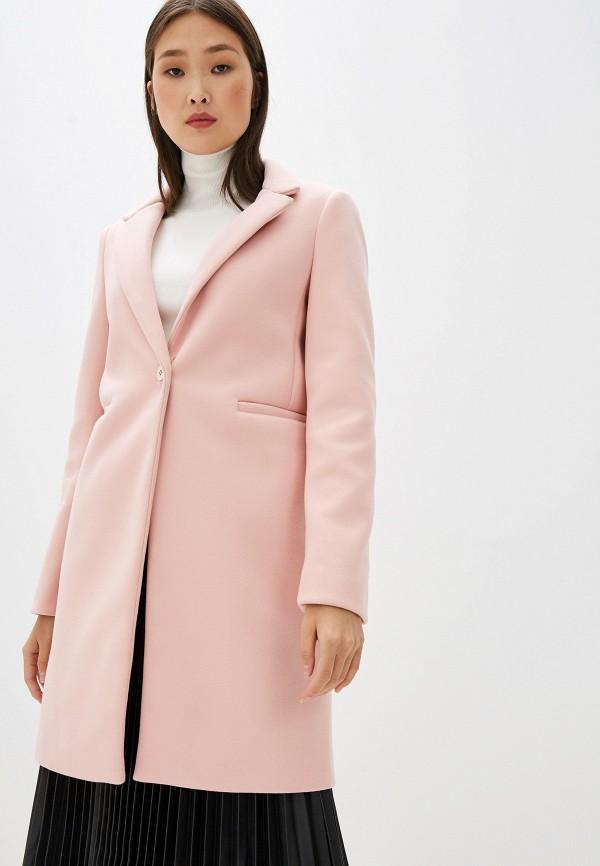 женское пальто liu jo, розовое