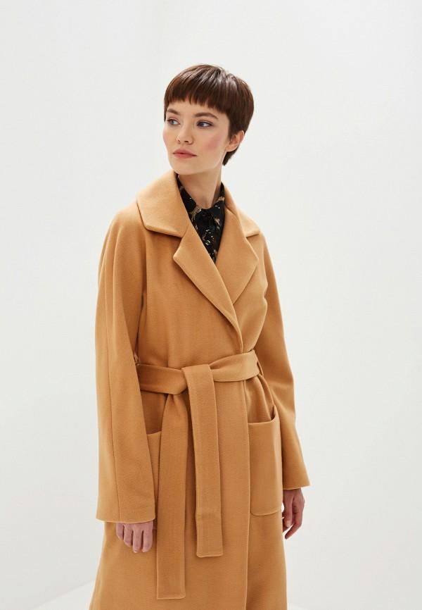 Фото 2 - женское пальто или плащ Liu Jo бежевого цвета