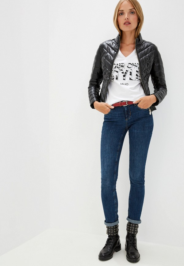 Фото 2 - женскую футболку Liu Jo белого цвета