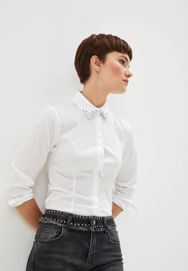 Фото - Блузу Liu Jo белого цвета