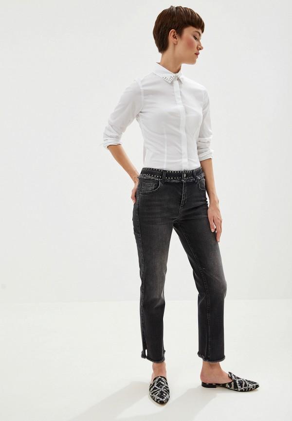 Фото 2 - Блузу Liu Jo белого цвета