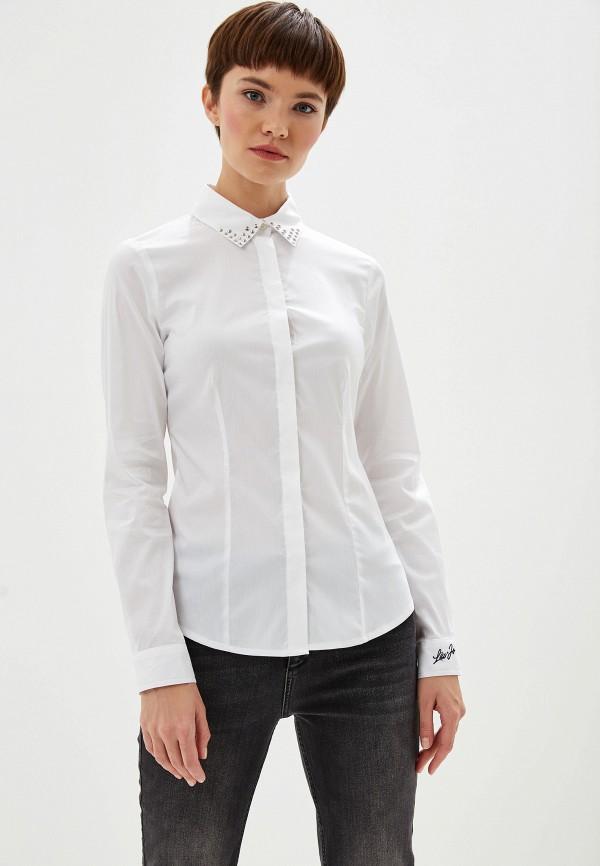 Фото 5 - Блузу Liu Jo белого цвета