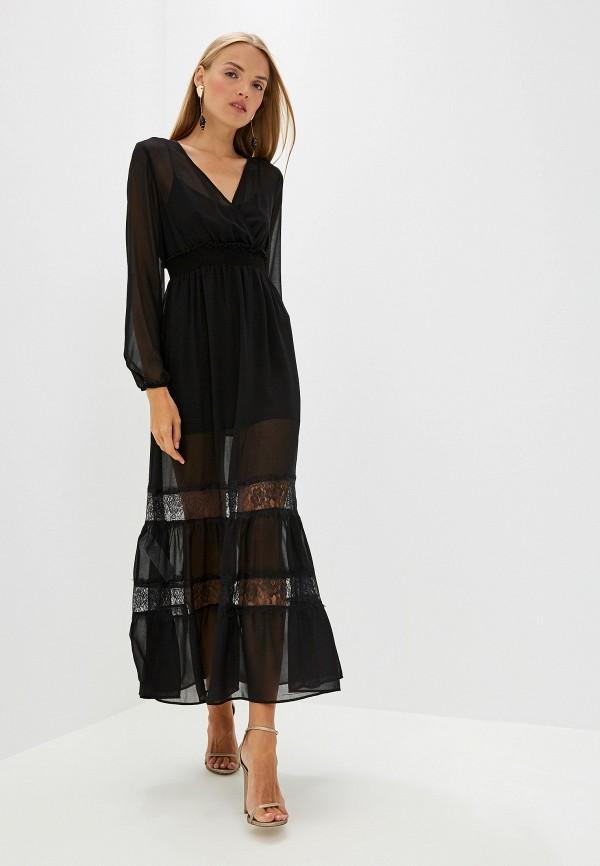 Фото - женское вечернее платье Liu Jo черного цвета