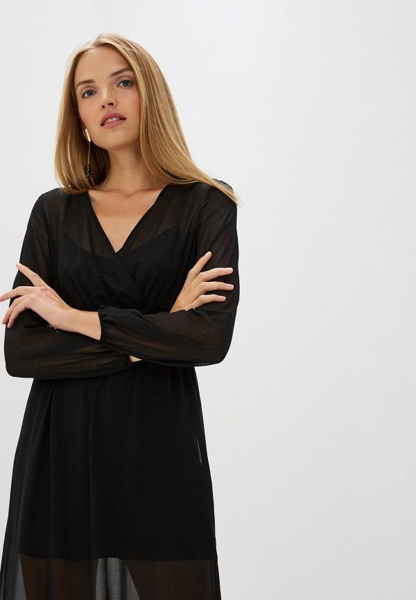 Фото 2 - женское вечернее платье Liu Jo черного цвета