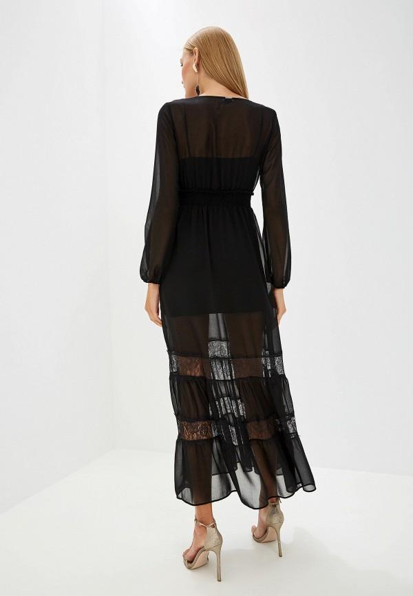 Фото 3 - женское вечернее платье Liu Jo черного цвета