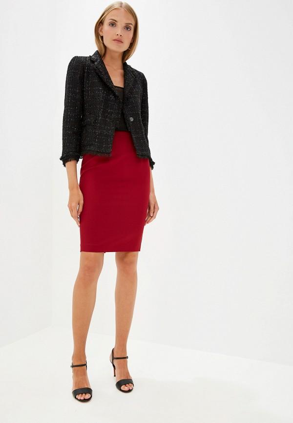 Фото 2 - женскую юбку Liu Jo бордового цвета