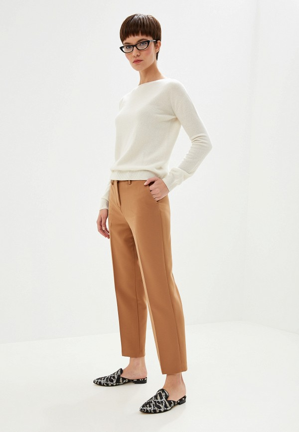 Фото 2 - женские брюки Liu Jo бежевого цвета