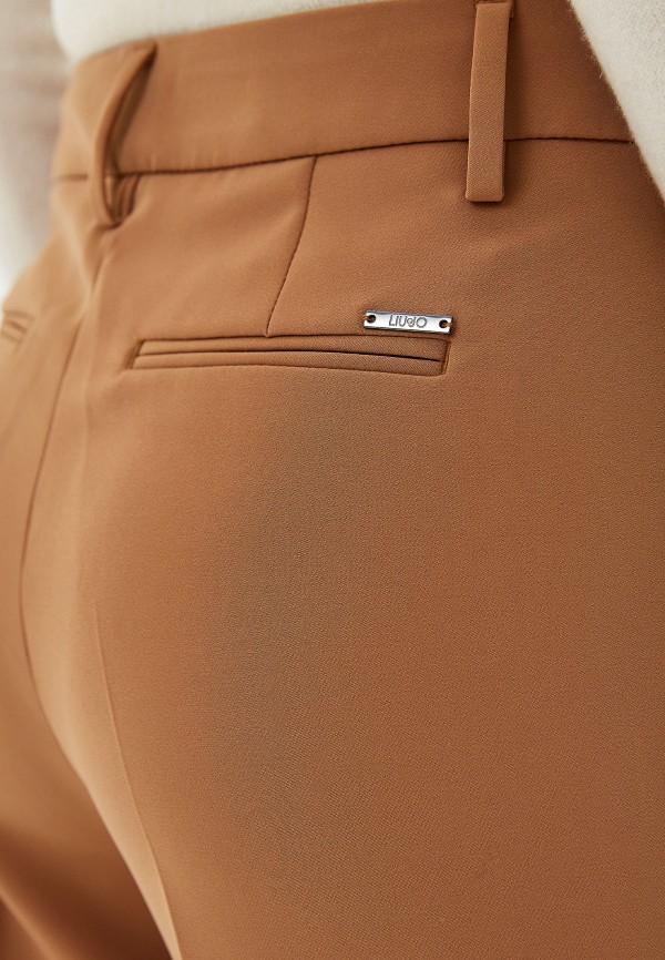 Фото 4 - женские брюки Liu Jo бежевого цвета