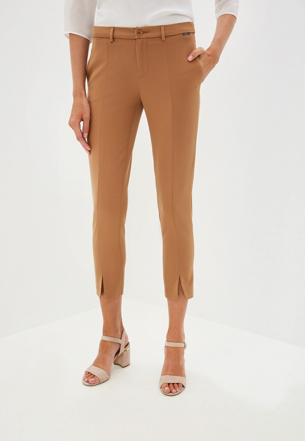 женские повседневные брюки liu jo, бежевые