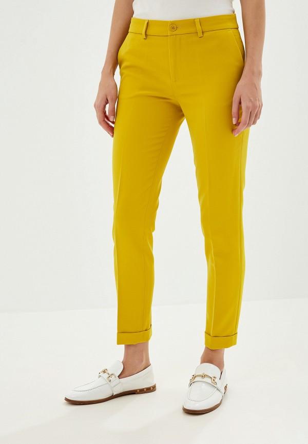 Фото - женские брюки Liu Jo желтого цвета