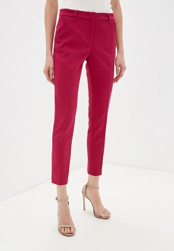 женские классические брюки liu jo, розовые