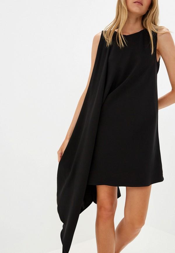 Фото 4 - женское вечернее платье Liu Jo черного цвета