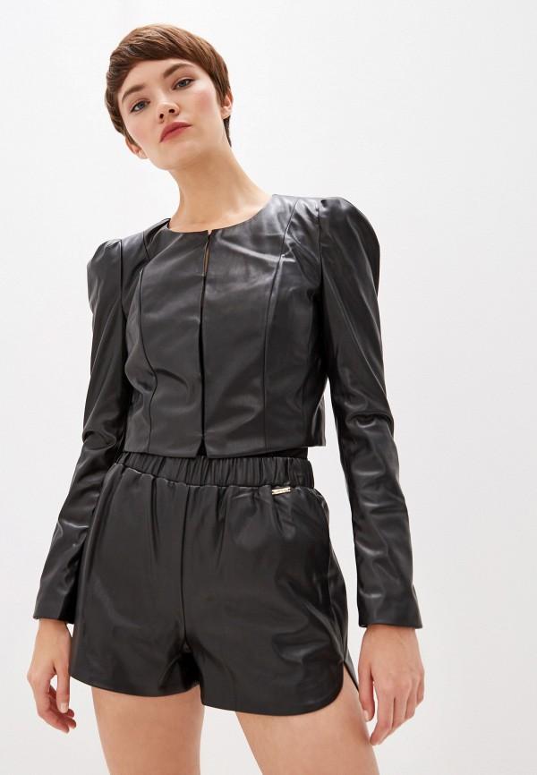 женская куртка liu jo, черная