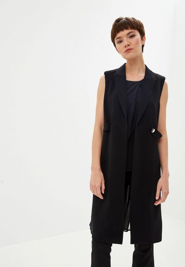 Фото - женский жилет Liu Jo черного цвета
