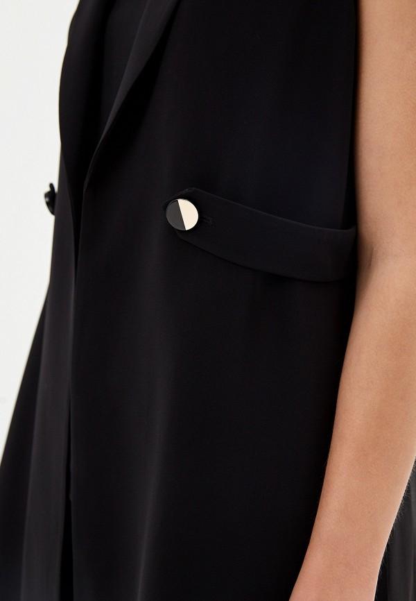 Фото 4 - женский жилет Liu Jo черного цвета
