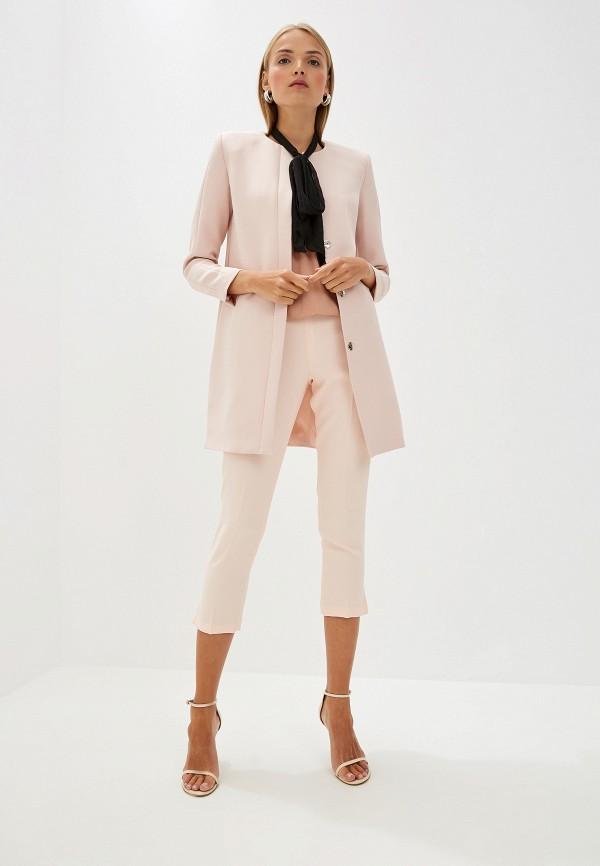 Фото 2 - женское пальто или плащ Liu Jo розового цвета