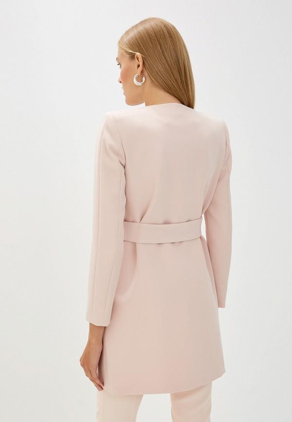 Фото 3 - женское пальто или плащ Liu Jo розового цвета